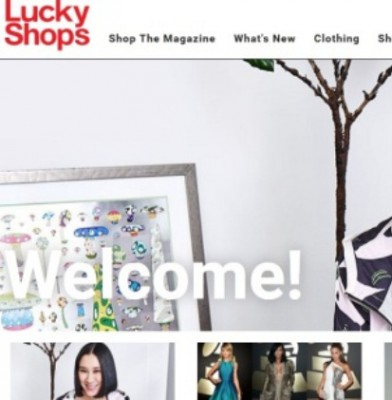 Lucky Magazine Launches Lucky Shops E-Commerce Venture