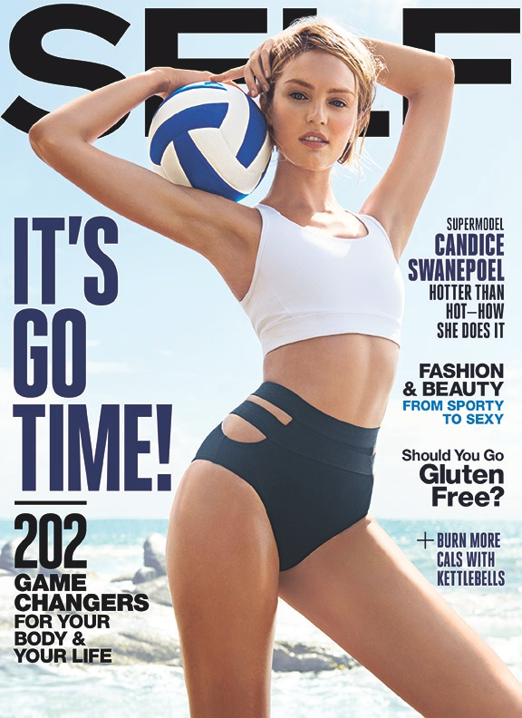 Candice Swanepoel Steams Things Up For Self Magazine, Says She Almost Quit Modeling
