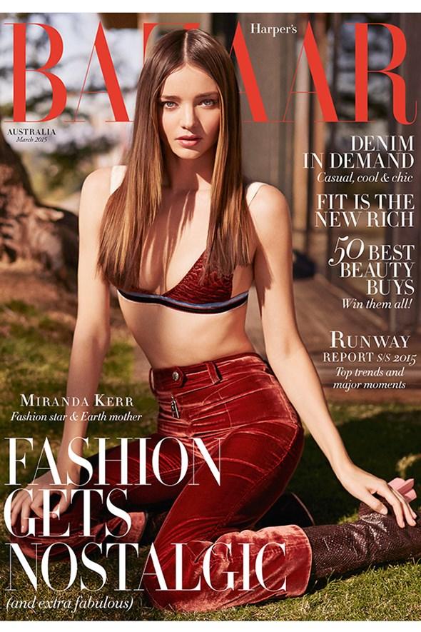 Miranda Kerr Is Bazaar Australia\'s March 2015 Cover Star