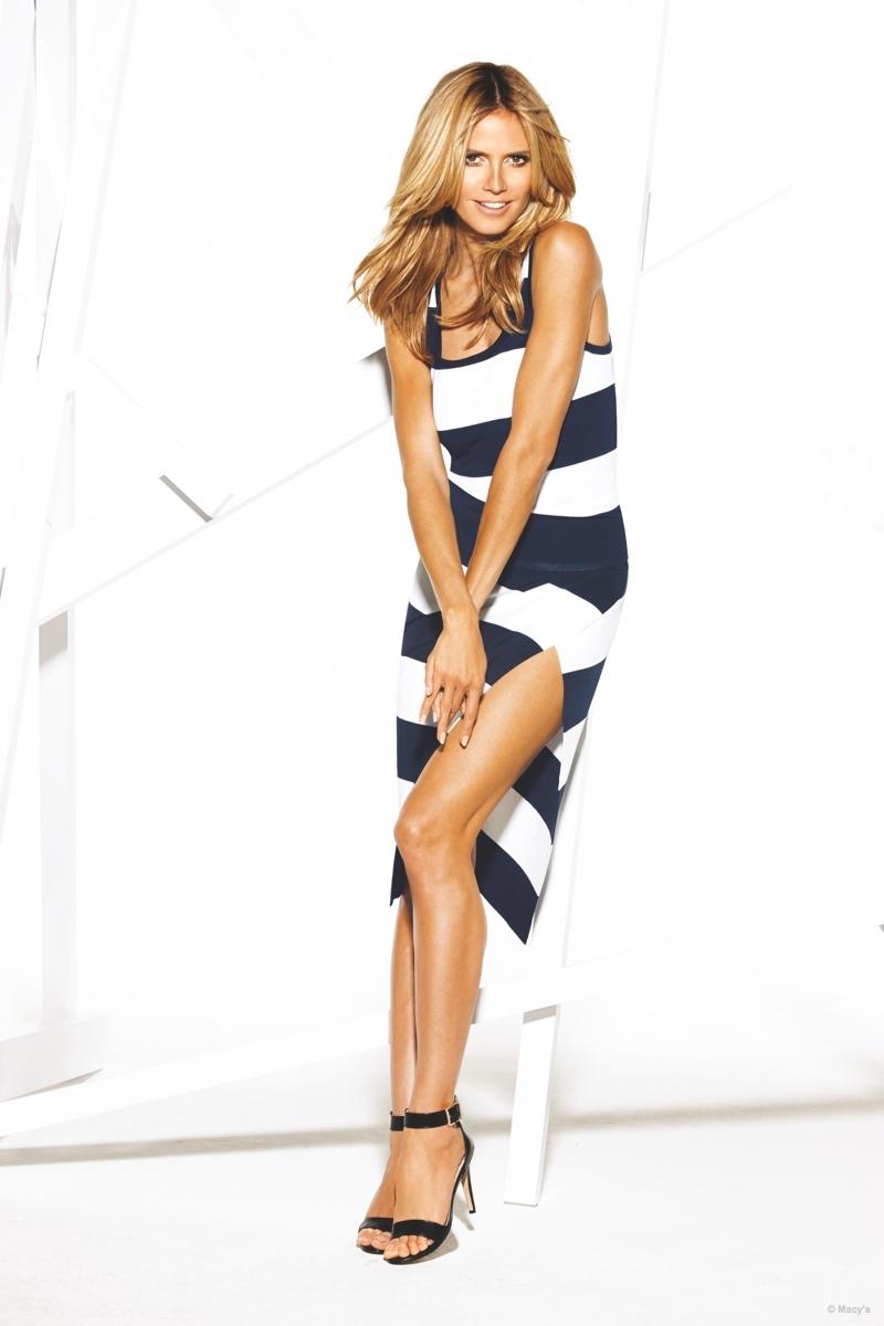 Heidi Klum shines in macy's inc campaign