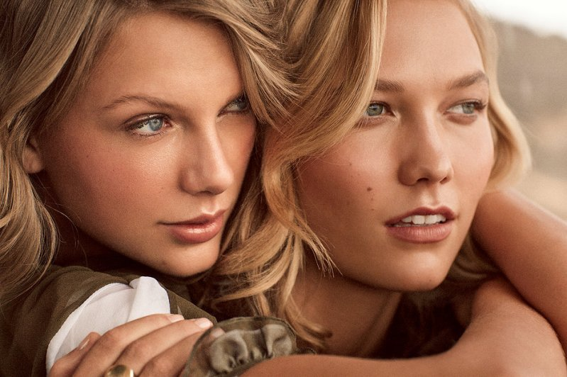 Karlie Kloss And Taylor Swift Cover Vogue\'s March 2015 Issue