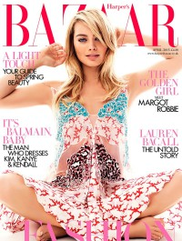 Margot Robbie Is Bazaar�s April Cover Star