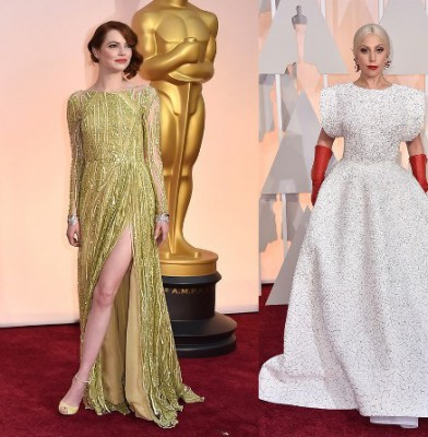 The Best Red-Carpet Looks & Trends From the 2015 Oscars