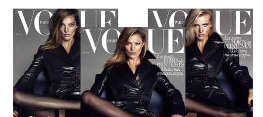 Kate, Daria & Lara Raise The Temperature For Vogue Paris ...