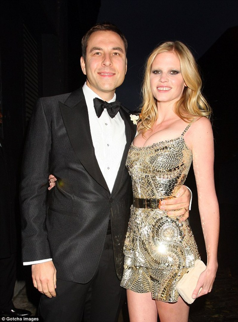Lara Stone and Husband David Walliams \'Split After Five Years Of Marriage\'