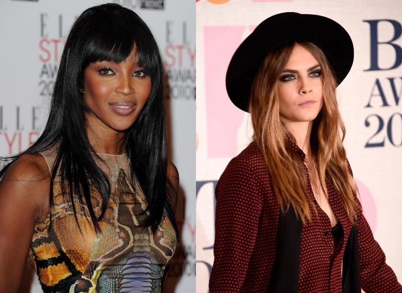 Cara Delevingne & Naomi Campbell Allegedly Brawled At Paris Fashion Week | News | The FMD