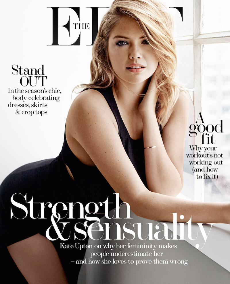 Kate Upton Sizzles on 'The Edit' March 2015 Cover | News | The FMD