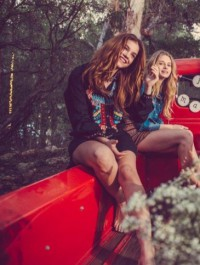 Gigi, Barbara, Lottie & Emily Star In Rosa Cha Winter �15 Campaign