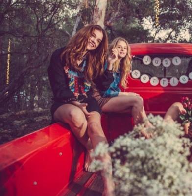 Gigi, Barbara, Lottie & Emily Star In Rosa Cha Winter '15 Campaign