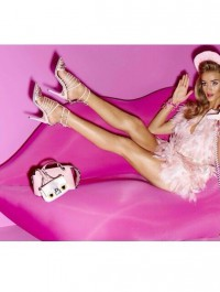 Rosie Huntington-Whiteley Stars In Barbie Inspired Shoot