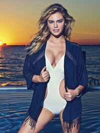 Kate Upton Sizzles In New Campaign For Express