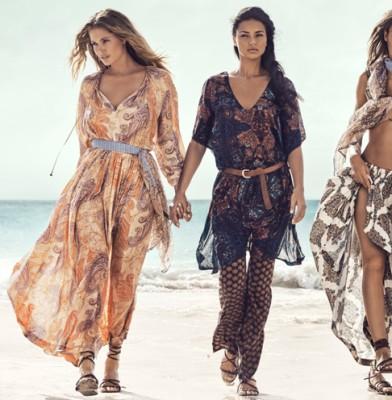Adriana Lima, Joan Smalls, Doutzen Kroes & Natasha Poly Star in H&M's Summer Campaign
