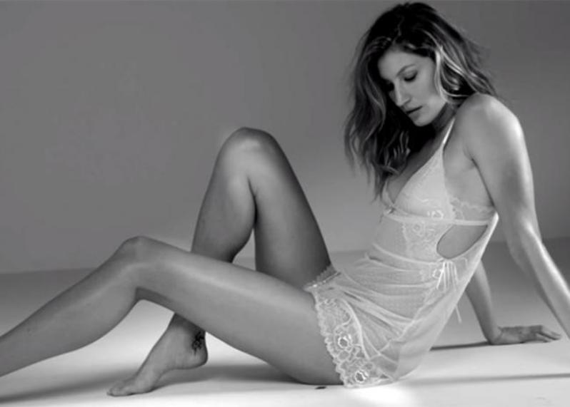 Gisele Bundchen smoulders in video campaign for her intimates line