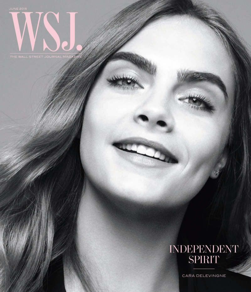 Cara Delevingne Covers WSJ, Talks Career Transition To Acting