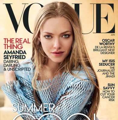 Amanda Seyfriend Covers Vogue, Talks Family & Finding Love On Instagram