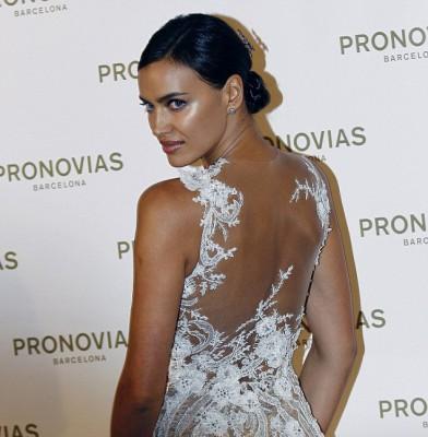 Irina Shayk dazzles at Pronovias bridal spectacle