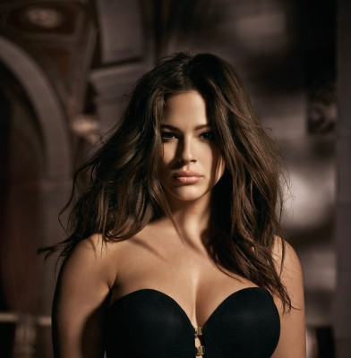 "Ashley Graham Launching ""Fifty Shades"" Inspired Lingerie Line"