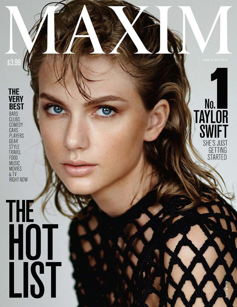 Taylor Swift tops Maxim's Reinvented Hot 100 List, talks Feminism & Misogyny