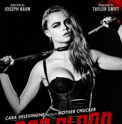 "Cara Delevingne & Martha Hunt Join ""Bad Blood"" Music Video Cast"