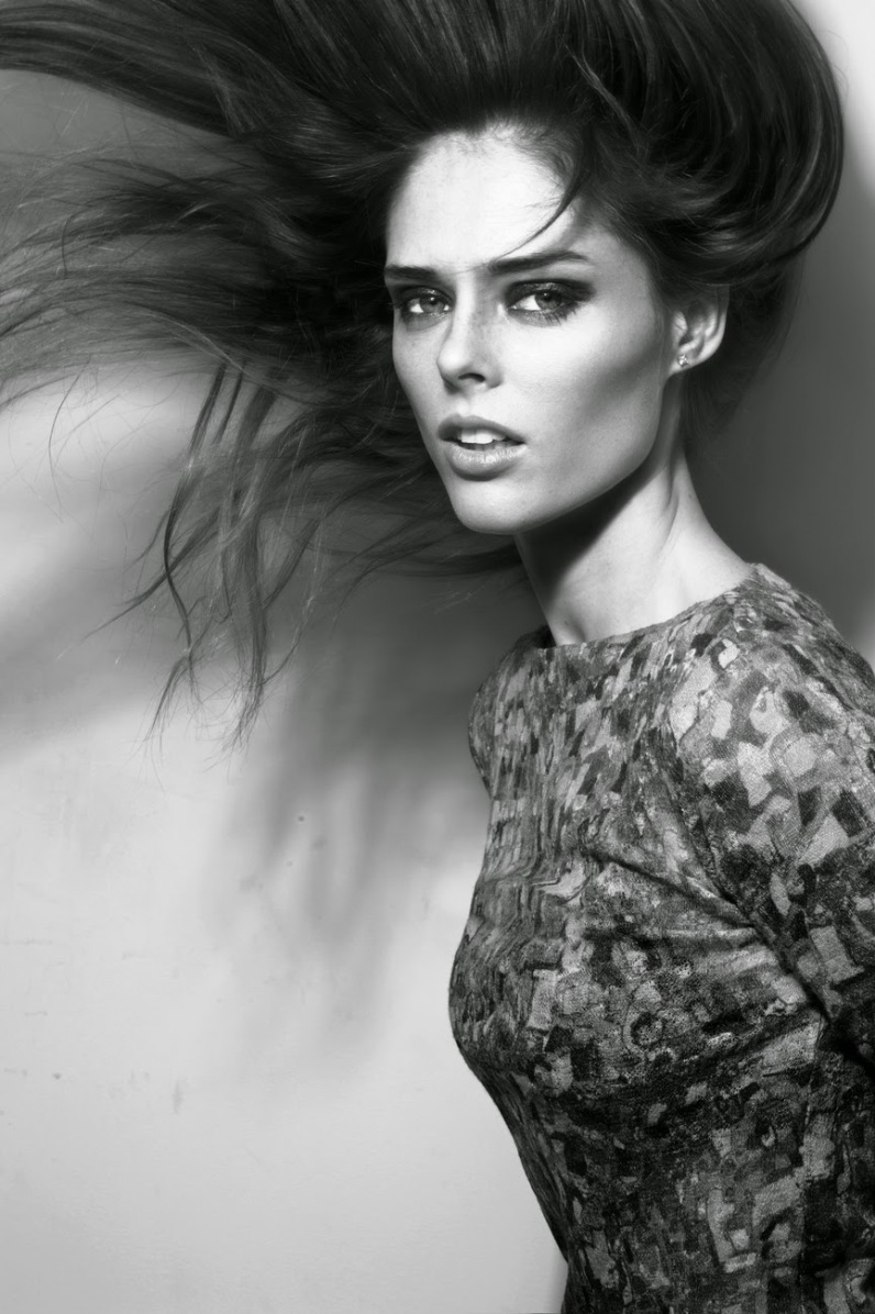 Coco Rocha Signed by IMG Models