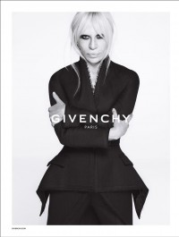 Donatella Versace Named New Face Of Givenchy