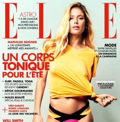 Doutzen Kroes Flaunts Her Killer Body For Elle France