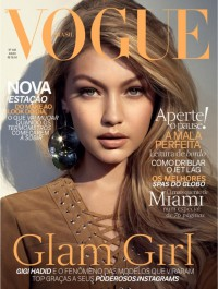 Gigi Hadid Sizzles on Vogue Brazil July 2015 Cover