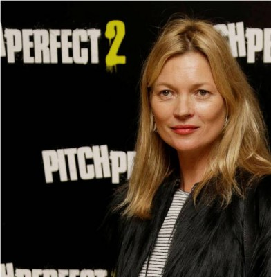 Kate Moss Escorted Off Plane in London