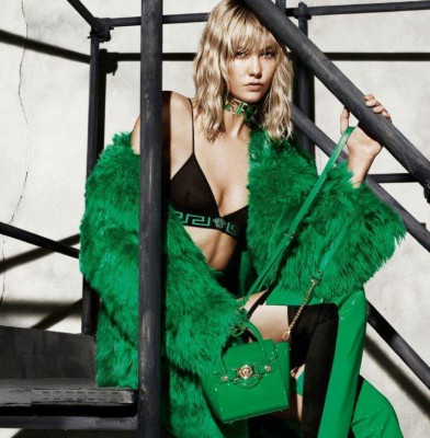 Karlie Kloss, Caroline Trentini and Lexi Boling Star In Versace\'s Fall Ads