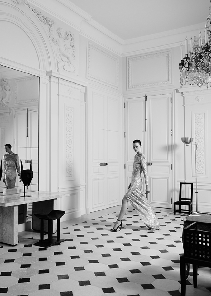 Saint Laurent Makes Couture Comeback