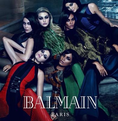 Balmain Taps Jenner, Hadid & Smalls Siblings For Fall 2015 Campaign