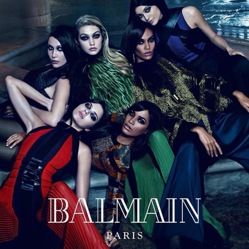 Balmain Taps Jenner, Hadid & Smalls Siblings For Fall 2015 Campaign