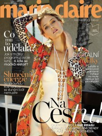 Bar Refaeli Is Boho Chic On The Cover Of Marie Claire C