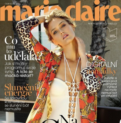 Bar Refaeli Is Boho Chic On The Cover Of Marie Claire Czech