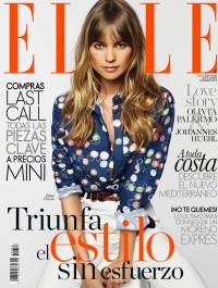 Behati Prinsloo Dazzles on the Cover of Elle Spain