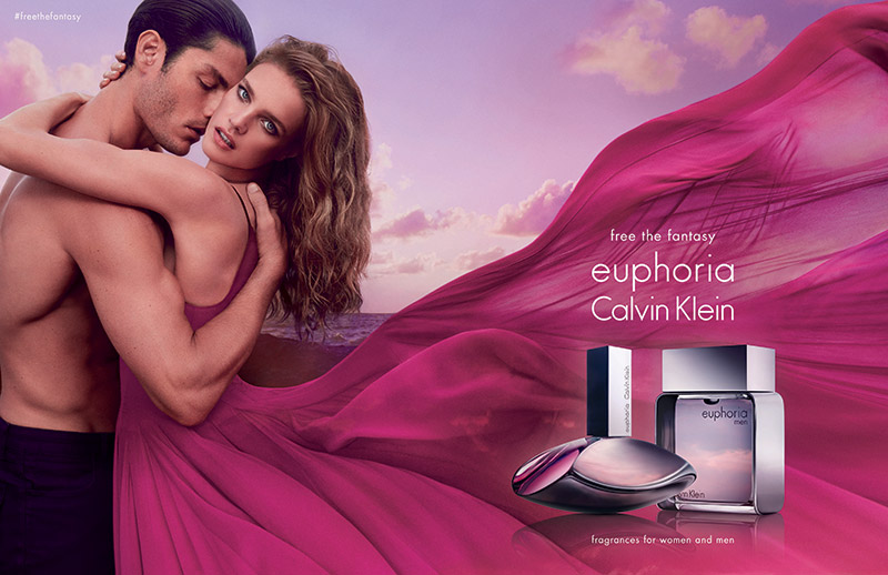Natalia Vodianova Returns as the Face of Calvin Klein\'s Euphoria
