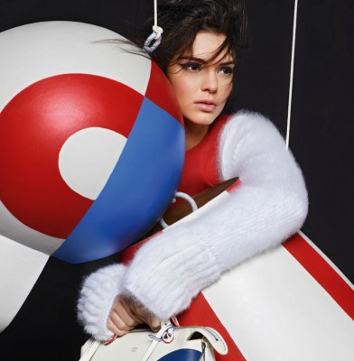 Kendall Jenner And Lily Donaldson Front Fendi�s Fall 2015 Ads