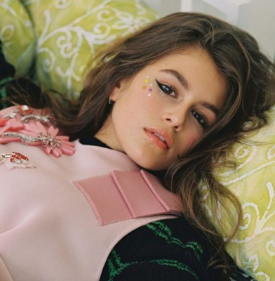 Kaia Gerber Makes Her CR Fashion Book Debut