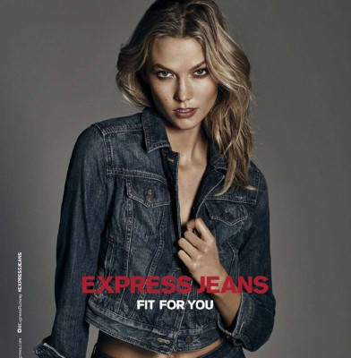Karlie Kloss is the New Face of Express Denim Campaign
