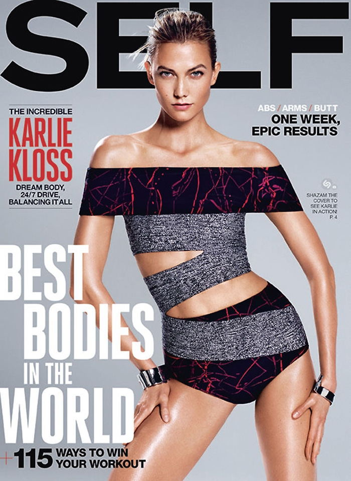 Karlie Kloss Flaunts Her Incredible Body For The August Issue Of Self