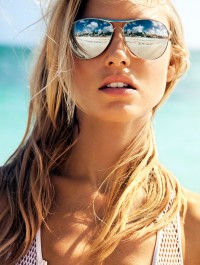 Martha Hunt Is A Vision On Ocean Drive�s Cover