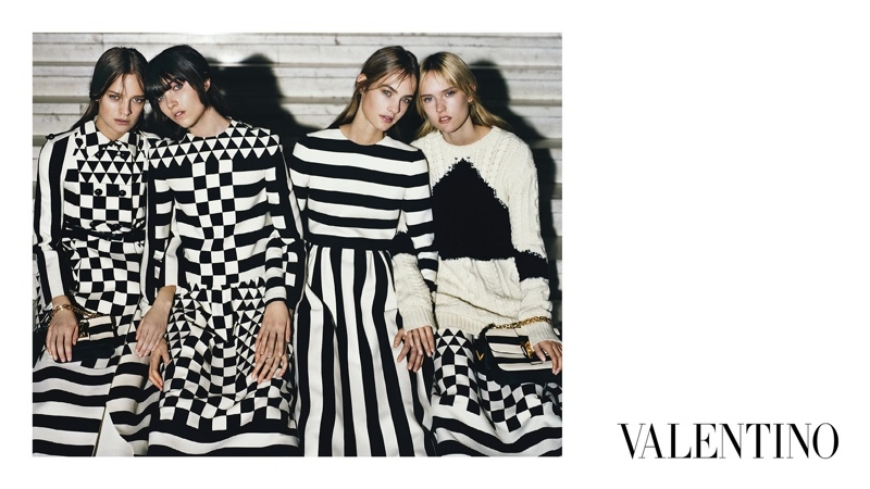 Valentino\'s Fall 2015 Campaign Stars Up And Coming Models