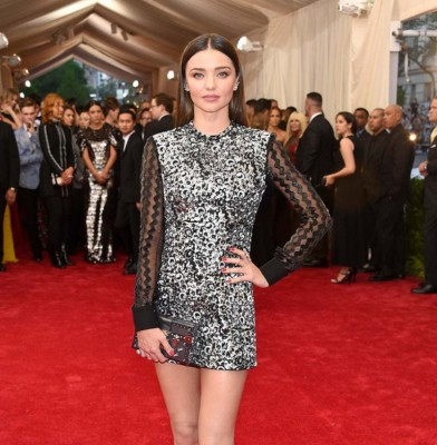 Miranda Kerr Dazzles At Swarovski Dinner
