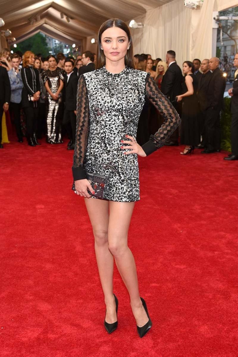 Miranda Kerr Dazzles At Swarovski Dinner