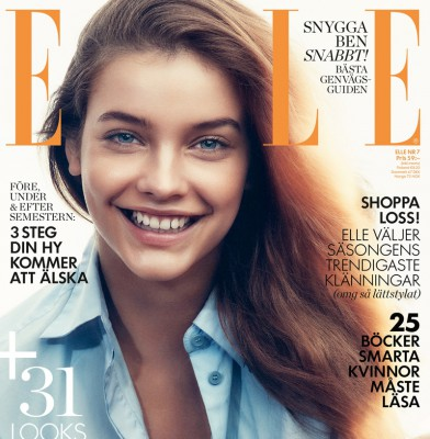 Barbara Palvin Wows In July 2015 Issue Of ELLE Sweden