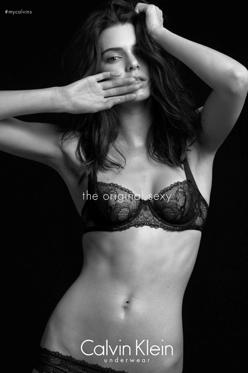 Kendall Jenner, Isabeli Fontana, Edita Vilkeviciute and Joan Smalls Strip Down for Calvin Klein's Provocative New Underwear Ads