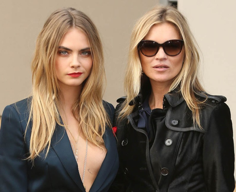 Have Kate Moss And Cara Delevingne Fallen Out?
