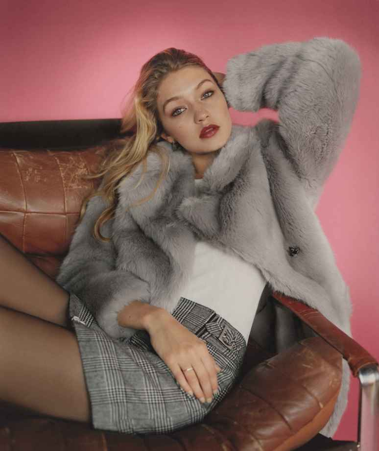 Gigi Hadid Is The New Face Of Topshop