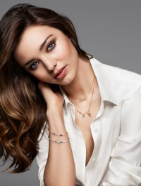 Miranda Kerr Designs Debut Jewellery Line For Swarovski