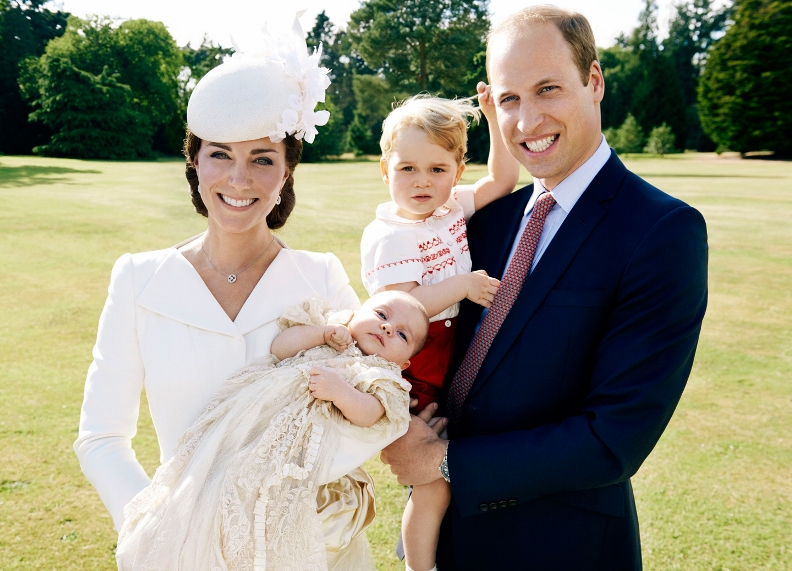 Mario Testino Photographs Princess Charlotte's Royal Christening Portraits